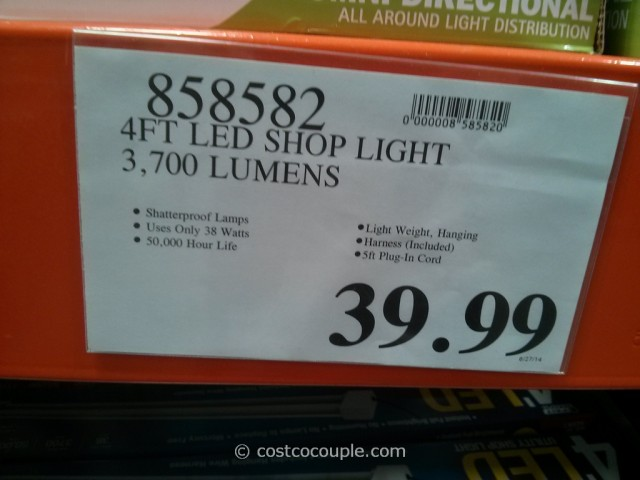 Costco Feit Electric Led Shop Lights