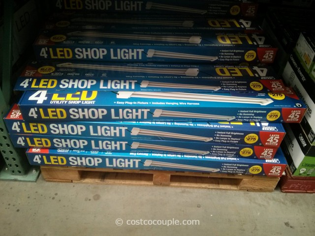 Feit Electric 4Ft LED Shop Light Costco 2 & Feit Electric 4Ft LED Shop Light azcodes.com