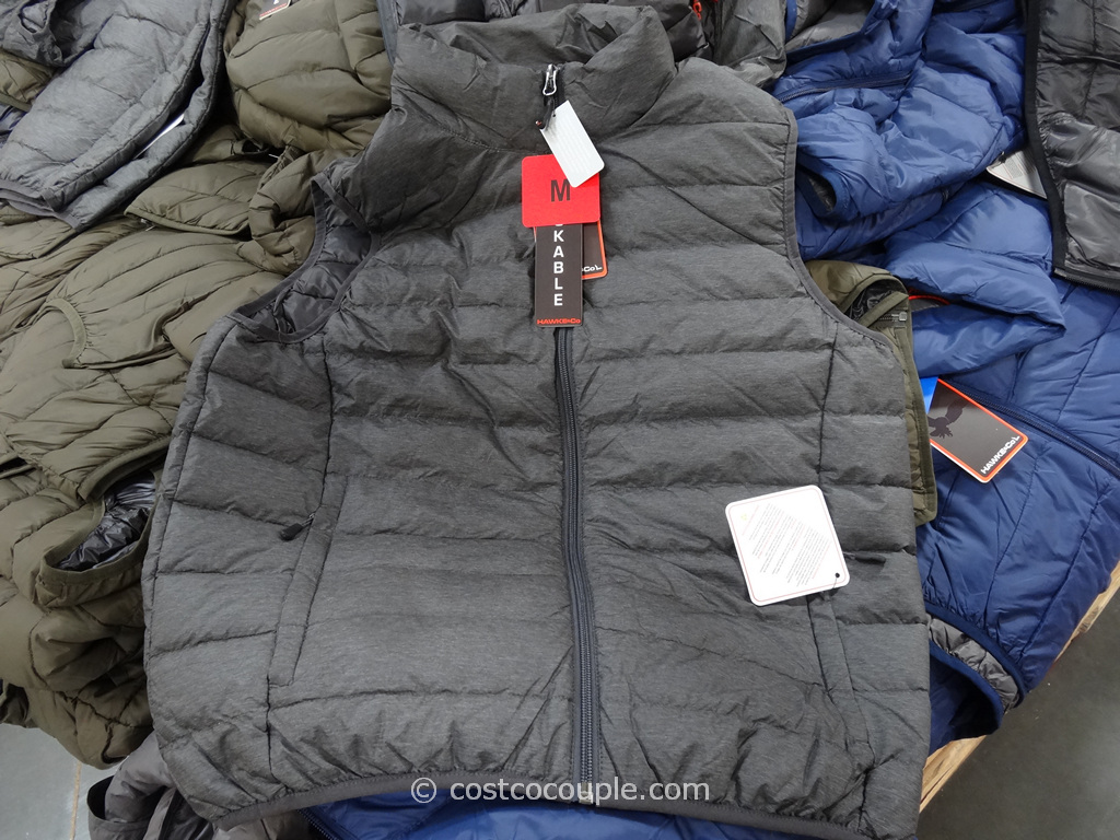 Hawke and Co Mens Packable Down Vest Costco 5