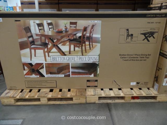 Hillsdale Furniture Bretton Grove 7-Piece Dining Set Costco 5