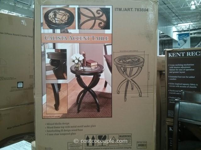 Hillsdale Furniture  Calista Accent Table Costco 4