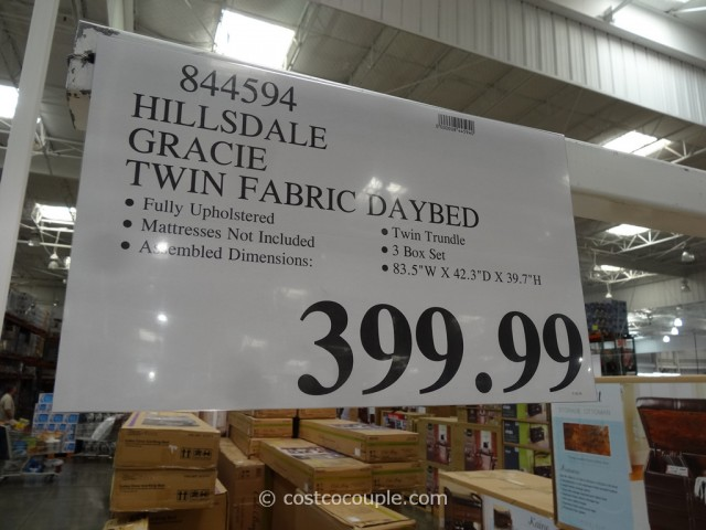Hillsdale Gracie Twin Fabric Daybed Costco 1