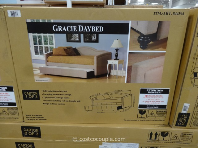 Hillsdale Gracie Twin Fabric Daybed Costco 6