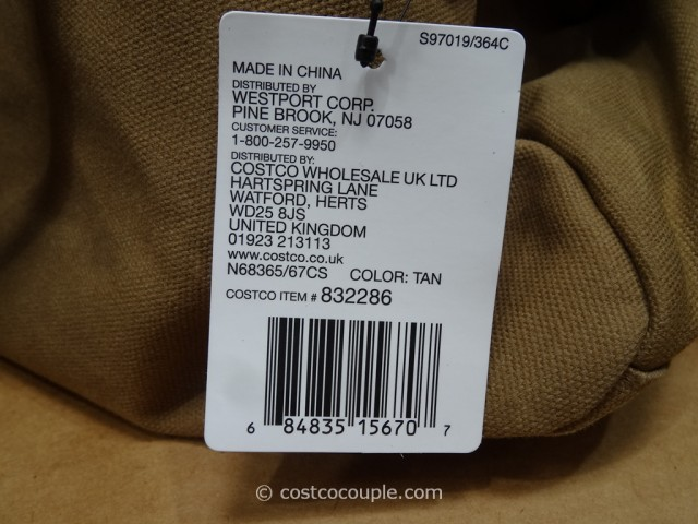 J Fold Canvas Roadster Duffel Costco 4