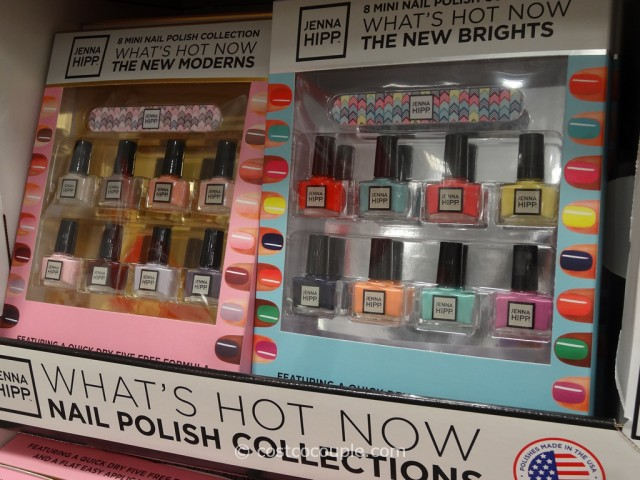 Jenna Hipp 8-Piece Mini Nail Polish Set Costco 2