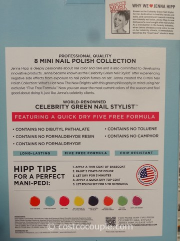 Jenna Hipp 8-Piece Mini Nail Polish Set Costco 3