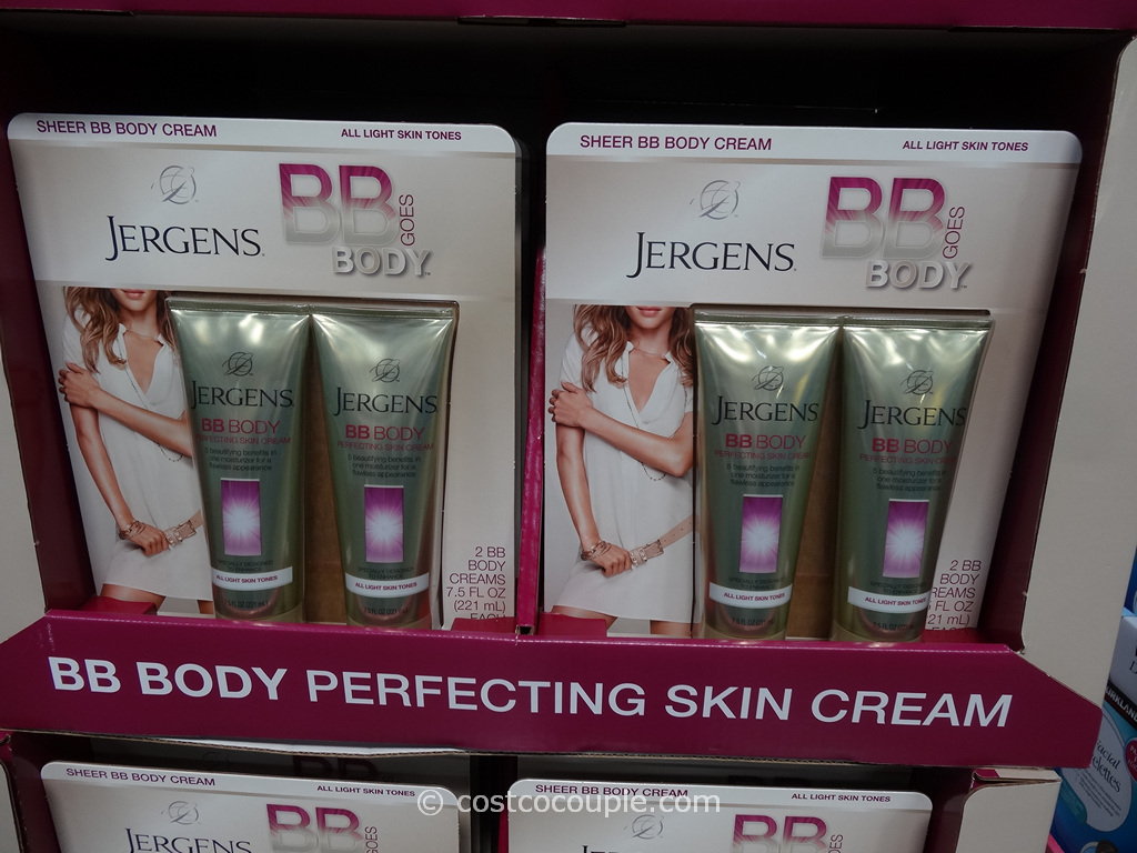 Jergens BB Body Cream Costco 3
