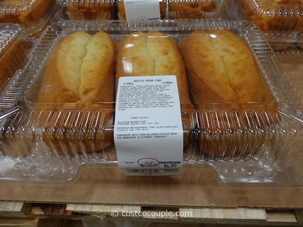 Kirkland Signature Butter Pound Cake Costco 2