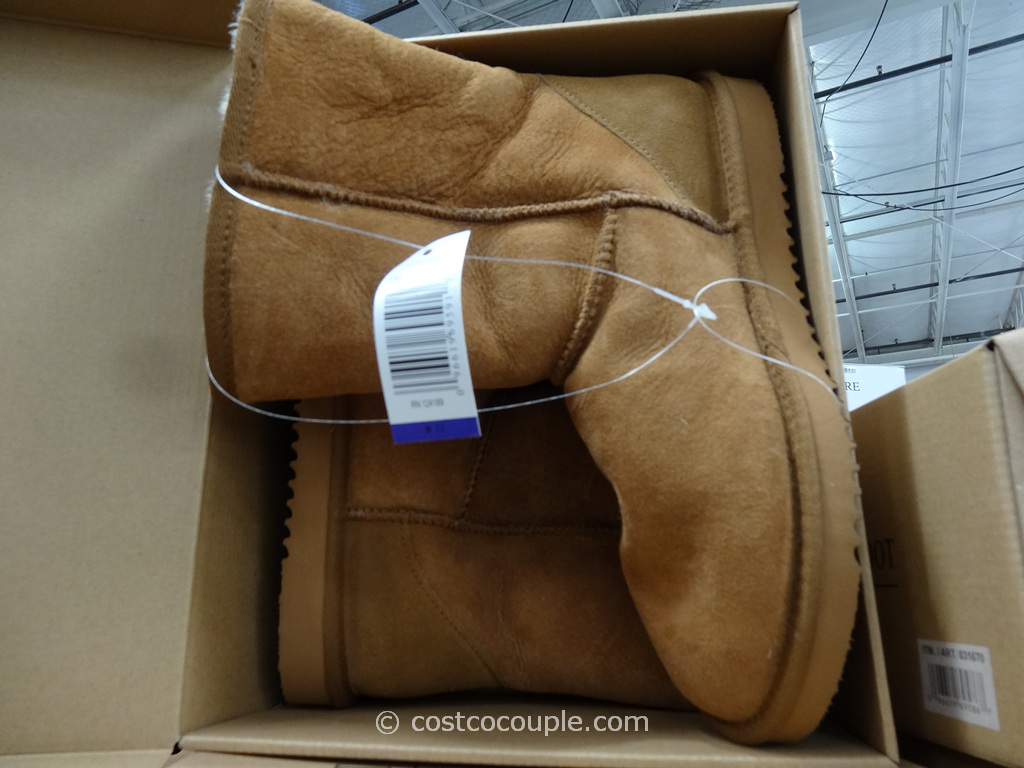 Kirkland Signature Ladies Short Shearling Boot Costco 5