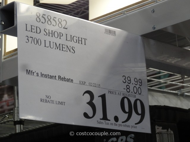Feit Electric LED Shop Light Costco 1