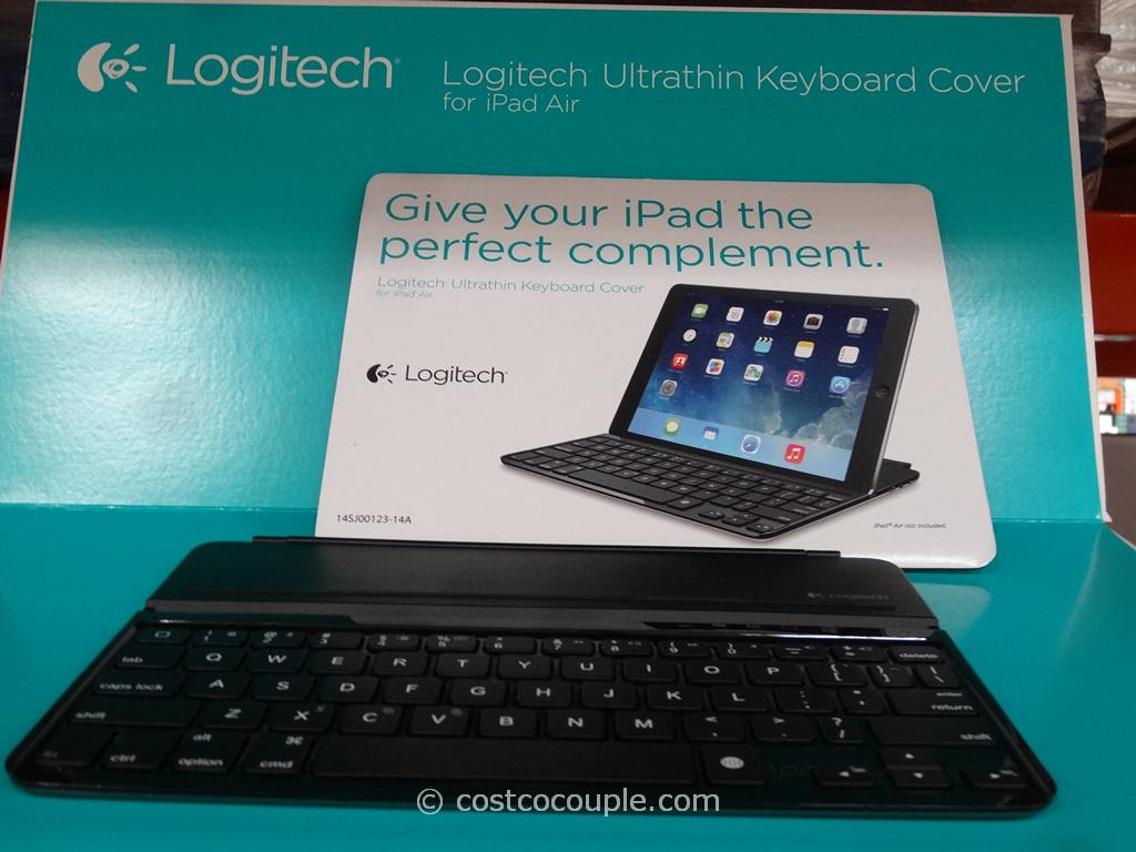 Logitech iPad Air Ultrathin Bluetooth Keyboard Costco 2