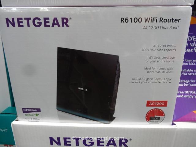 Netgear R6100 Wifi Router Costco 2