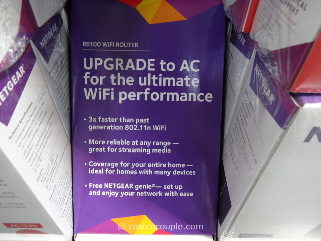Netgear R6100 Wifi Router