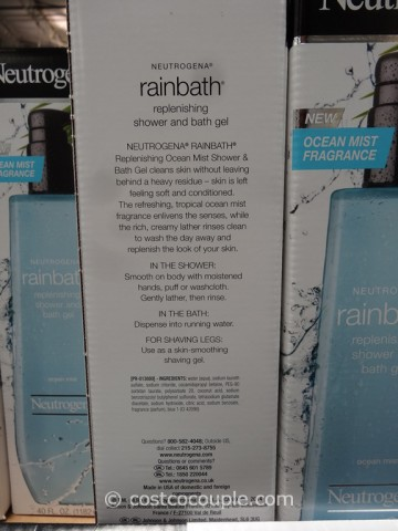Neutrogena Rainbath Shower Gel Ocean Mist Fragrance
