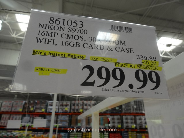 Nikon Coolpix S9700 Costco 4
