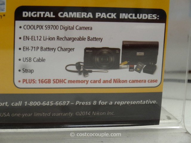 Nikon Coolpix S9700 Costco 7