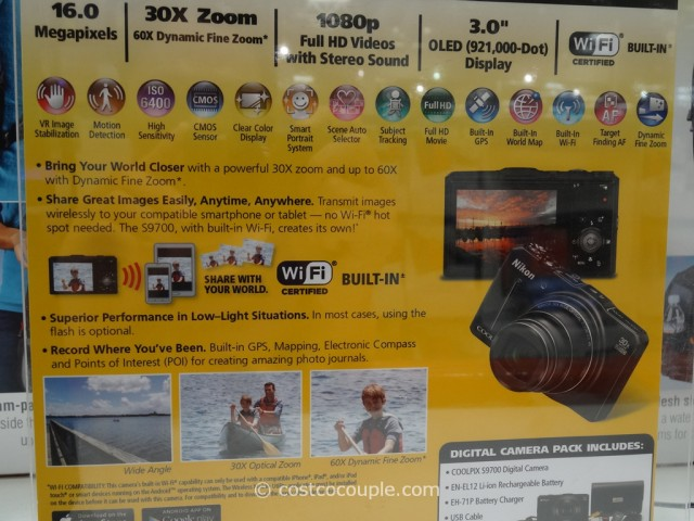 Nikon Coolpix S9700 Costco 8