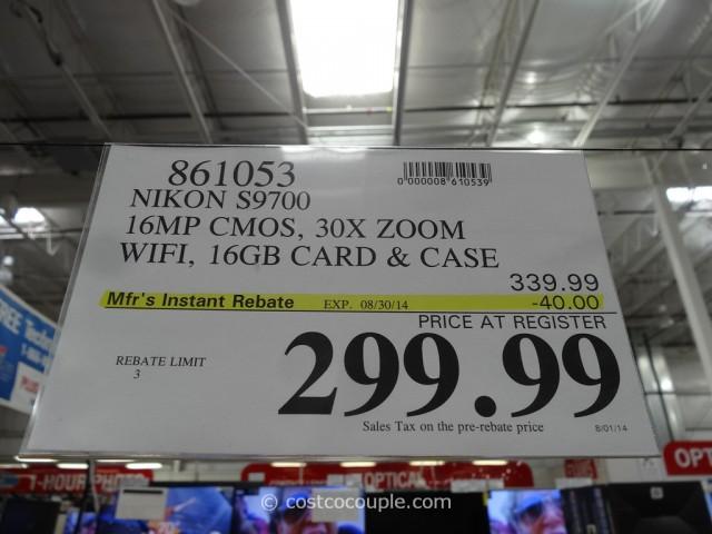 Nikon S9700 Costco