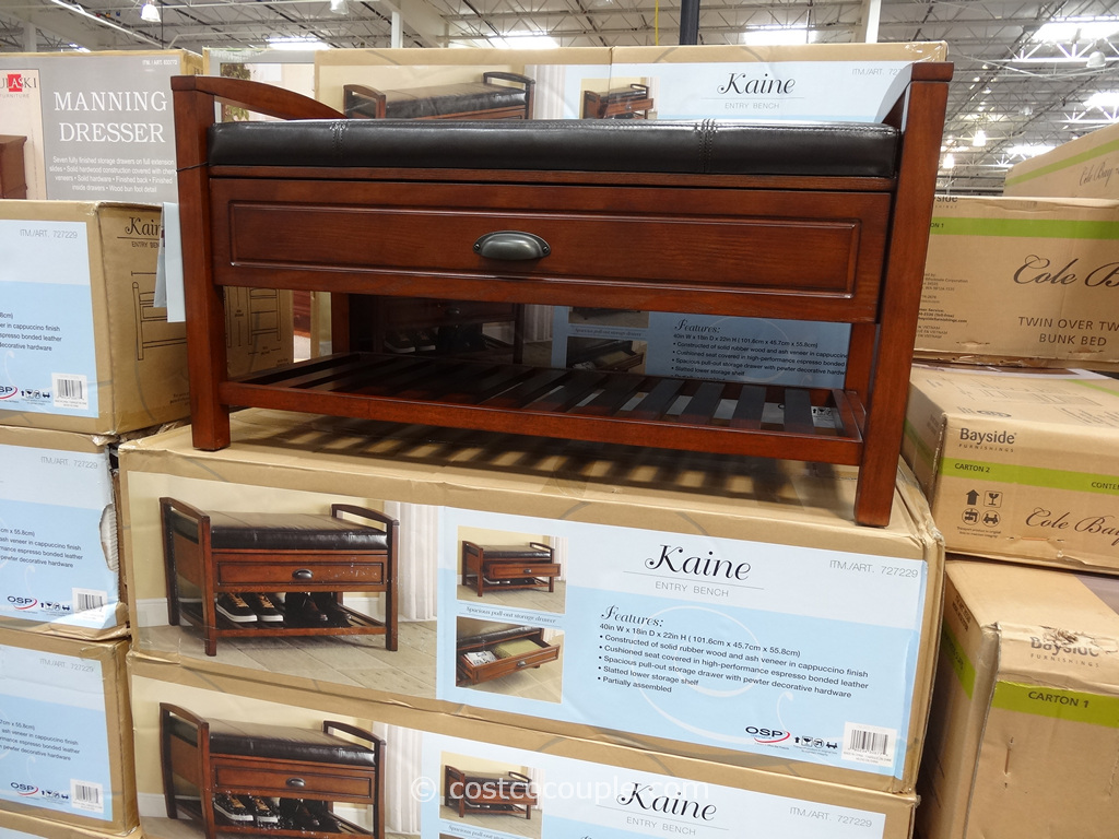 OSP Designs Kaine Entry Bench Costco 4
