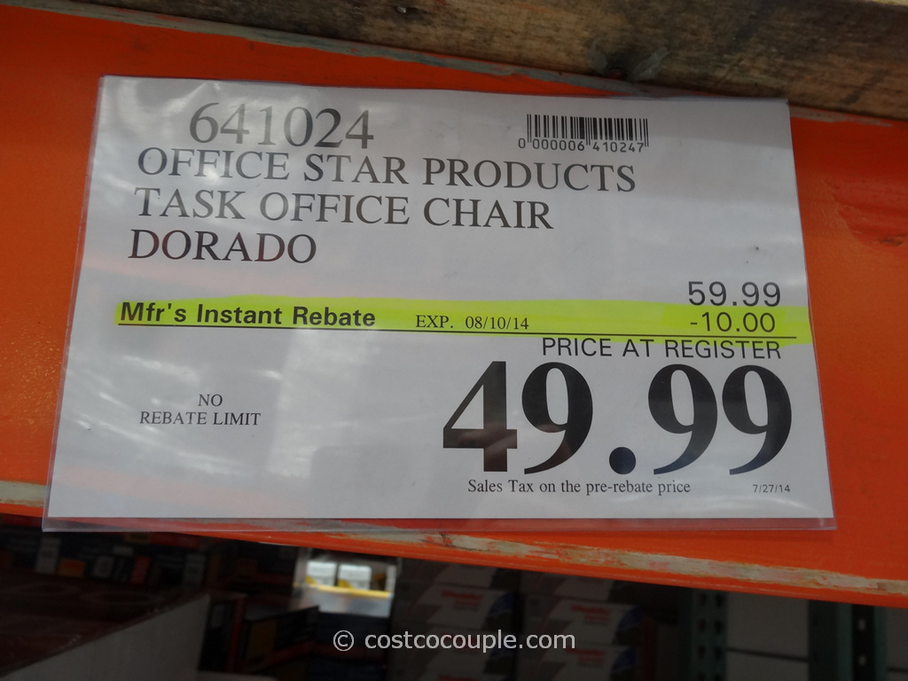 office star products dorado office chair costco