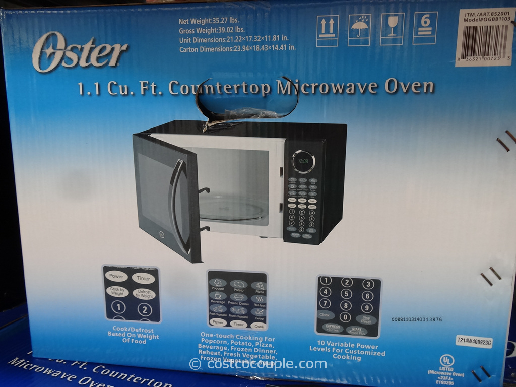 Oster Counterop Microwave Oven