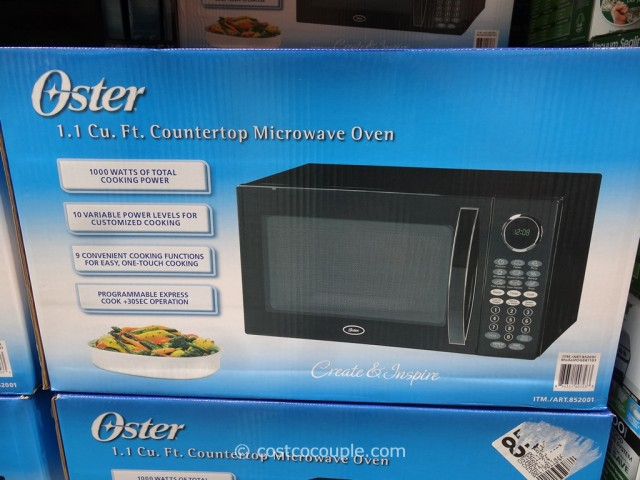 Oster Counterop Microwave Oven Costco 4