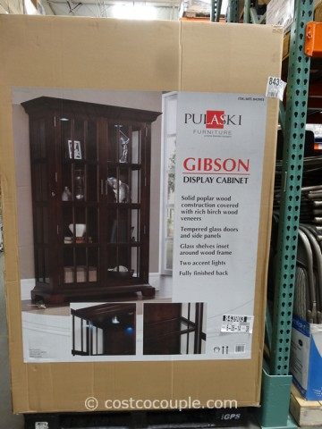 Pulaski Furniture Gibson Glass Display Cabinet Costco 2