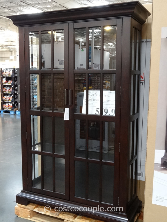 Pulaski Furniture Gibson Glass Display Cabinet Costco 5