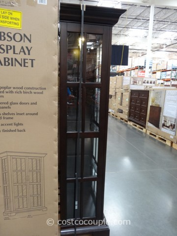 Pulaski Furniture Gibson Glass Display Cabinet Costco 6