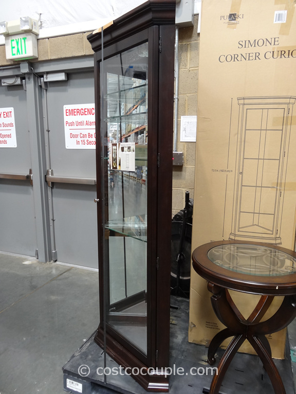 Merveilleux Pulaski Furniture Simone Corner Curio Cabinet Costco 4