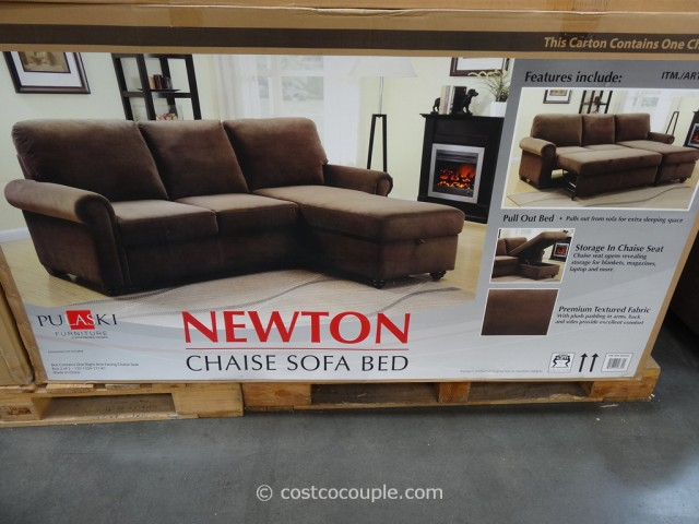 Pulaski Newton Chaise Sofa Bed