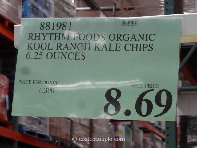 Rhythm Food Organic Kale Chips Costco 1