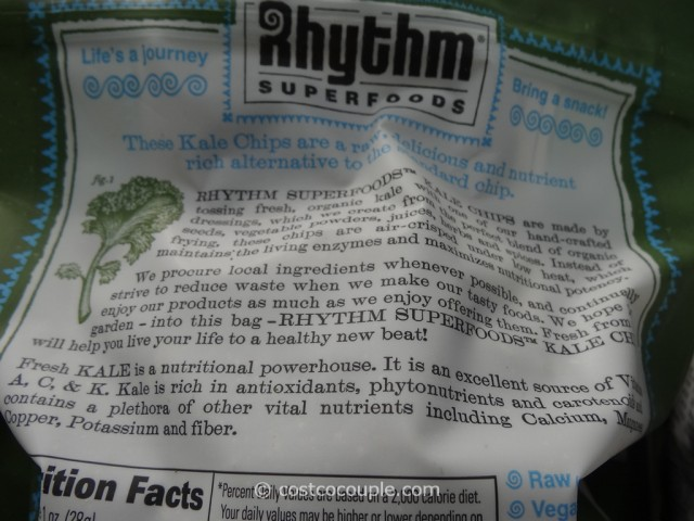 Rhythm Food Organic Kale Chips