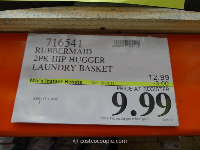 Rubbermaid Laundry Basket Costco