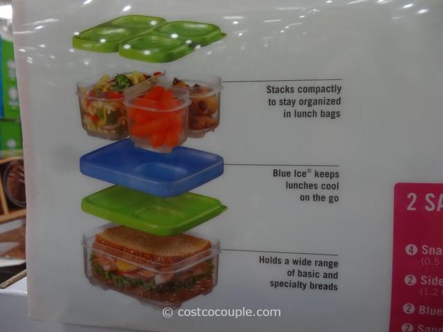 Rubbermaid Lunch Blox Set Costco 8