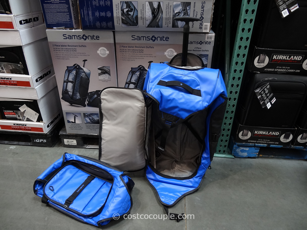 Samsonite 2-Piece Duffel Set Costco 1