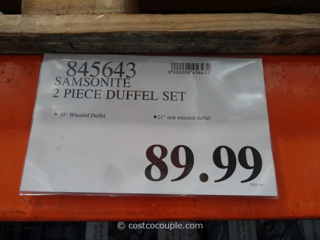 Samsonite 2-Piece Duffel Set Costco 5