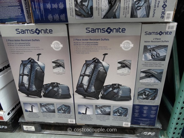 Samsonite 2-Piece Duffel Set Costco 6