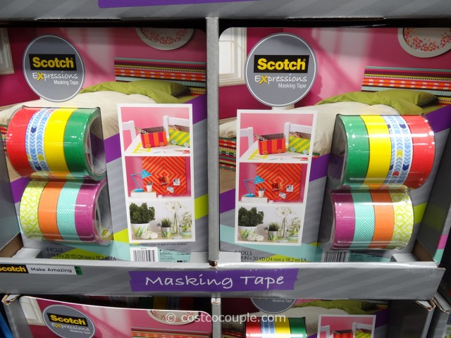 Scotch Expressions Masking Tape Costco 2