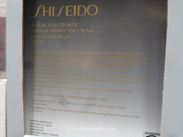 Shiseido Future Solution LX Daytime Protection Cream Costco 2