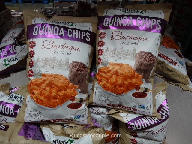 Simply Barbeque Quinoa Chips Costco 7
