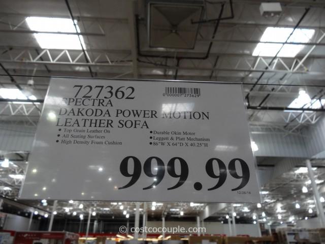Spectra Dakoda Power Motion Sofa Costco 1