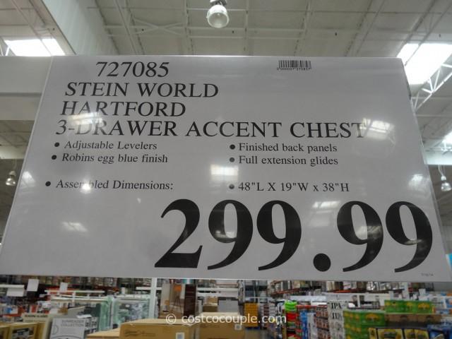 Stein World Hartford 3-Drawer Accent Chest Costco 1