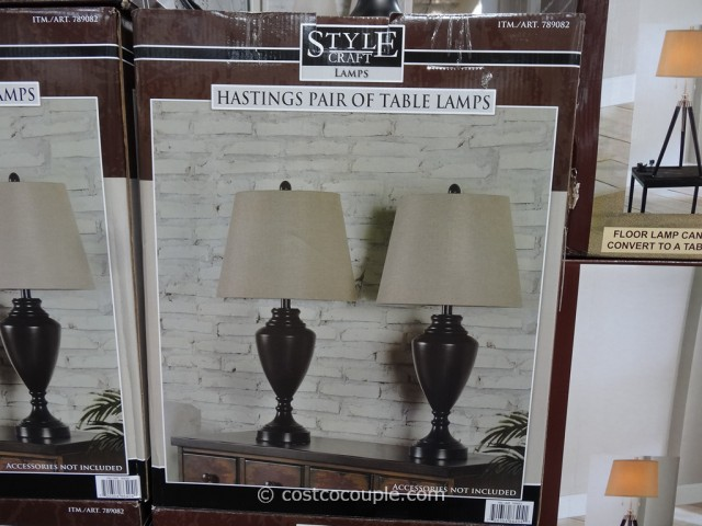 Stylecraft Home Hastings Table Lamps Costco 3