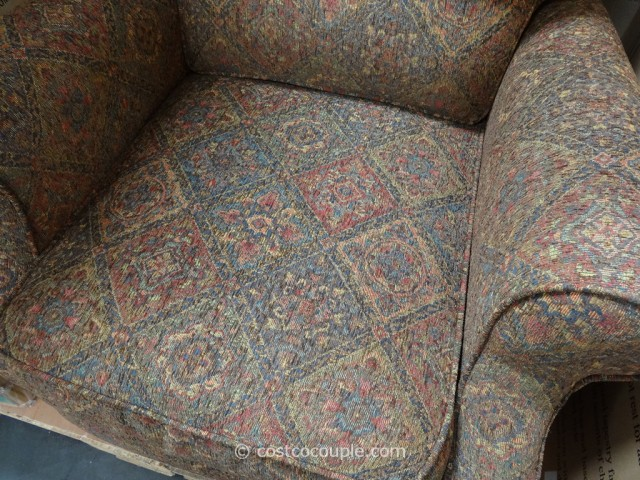 Synergy Kent Push-Back Fabric Recliner Costco 5