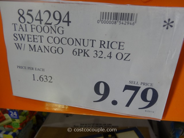 Tai Foong Sweet Coconut Mango Rice Costco 1