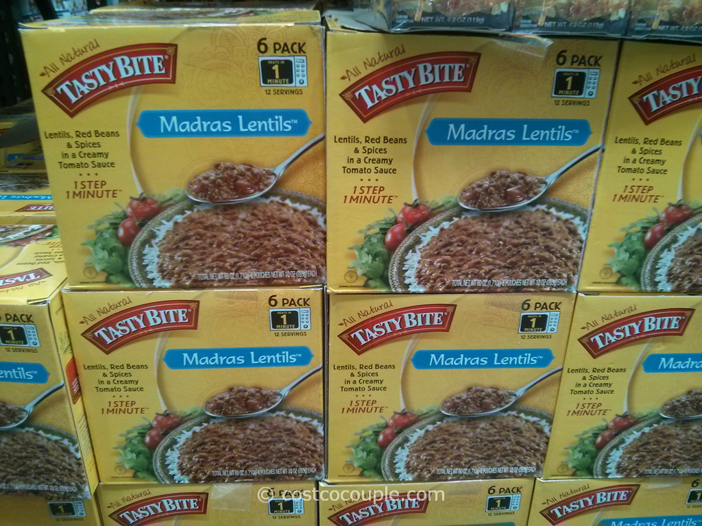 Tasty Bites Madras Lentils Costco 2