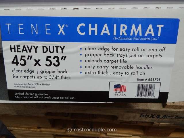 Tenex Chairmat Costco 3