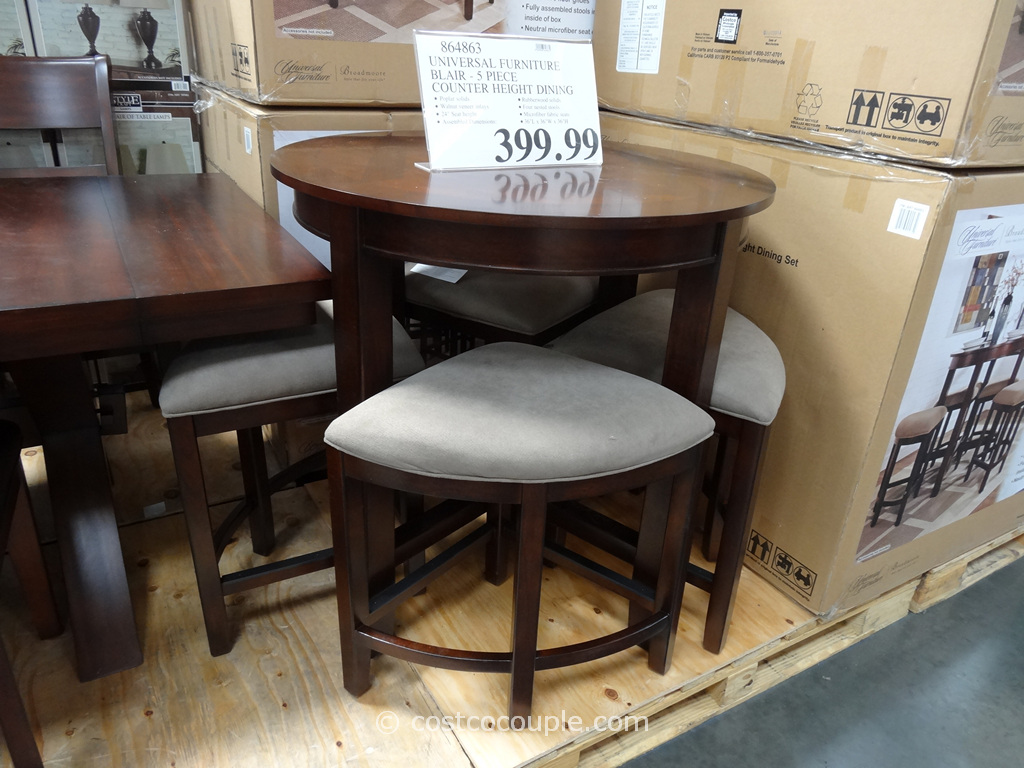 Universal Furniture Blair Counter Height Dining Set Costco 2