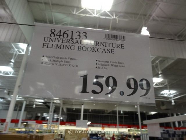 Universal Furniture Fleming Bookcase Costco 1